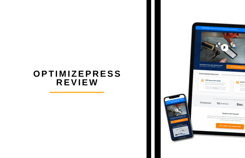 OptimizePress Review [2021]