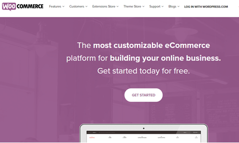 WooCommerce home page