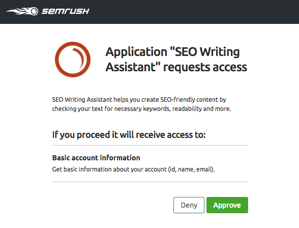 SEO Writing Assitant