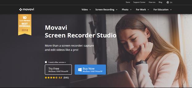 Movavi home page