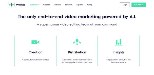 magisto video marketing