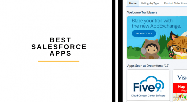 best salesforce apps