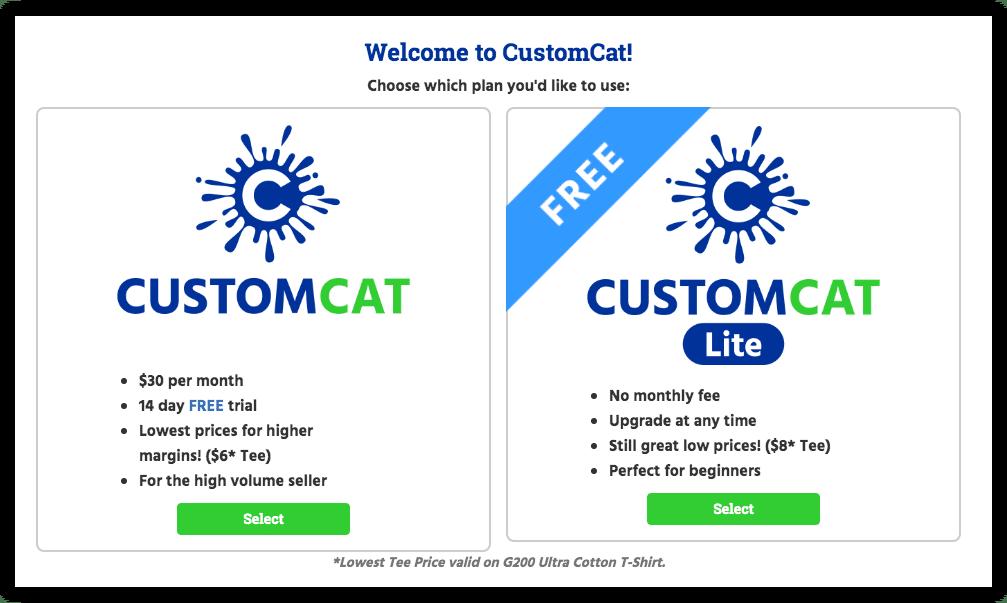 customcat plans
