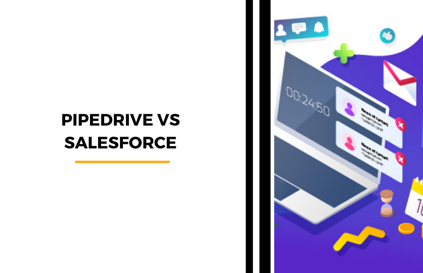 Pipedrive vs Salesforce