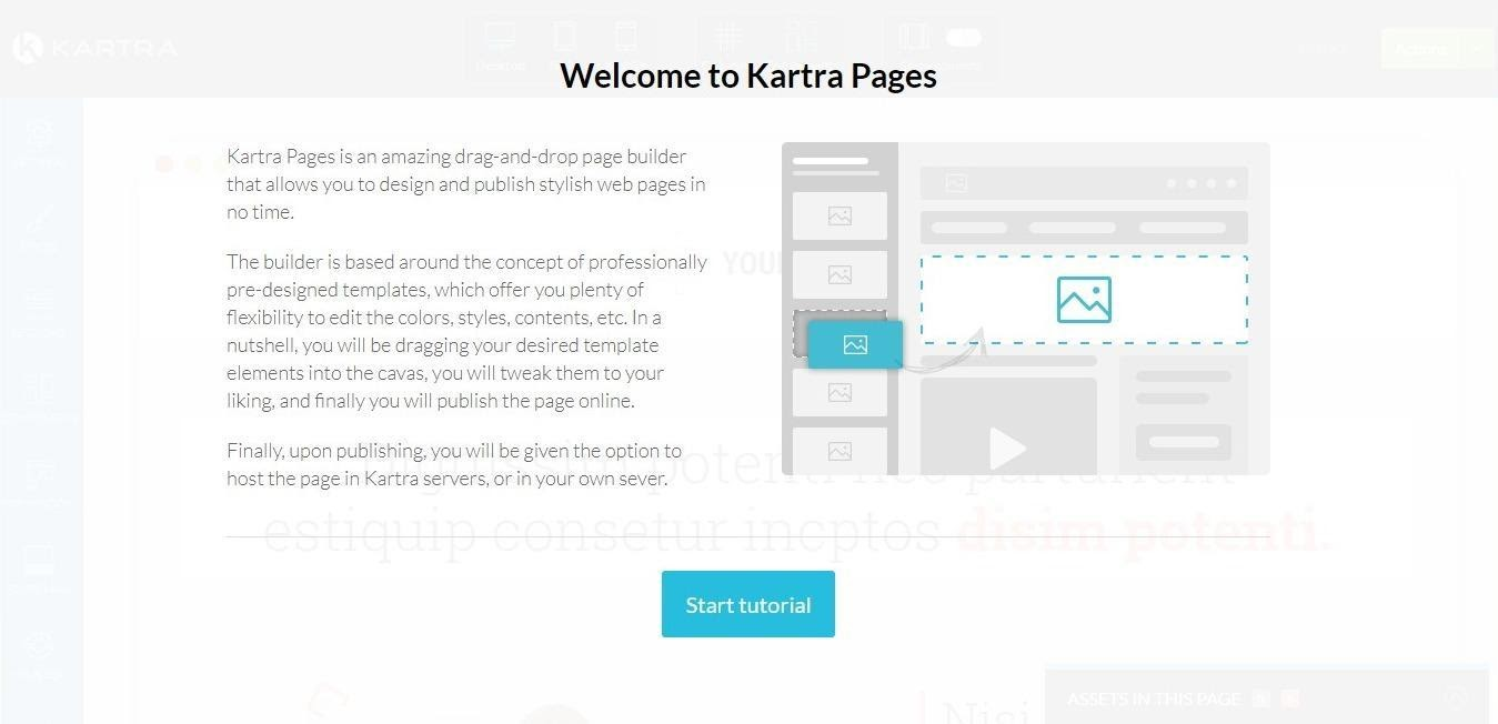 Kartra pages