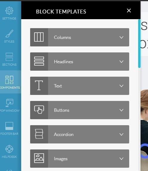 Kartra block templates