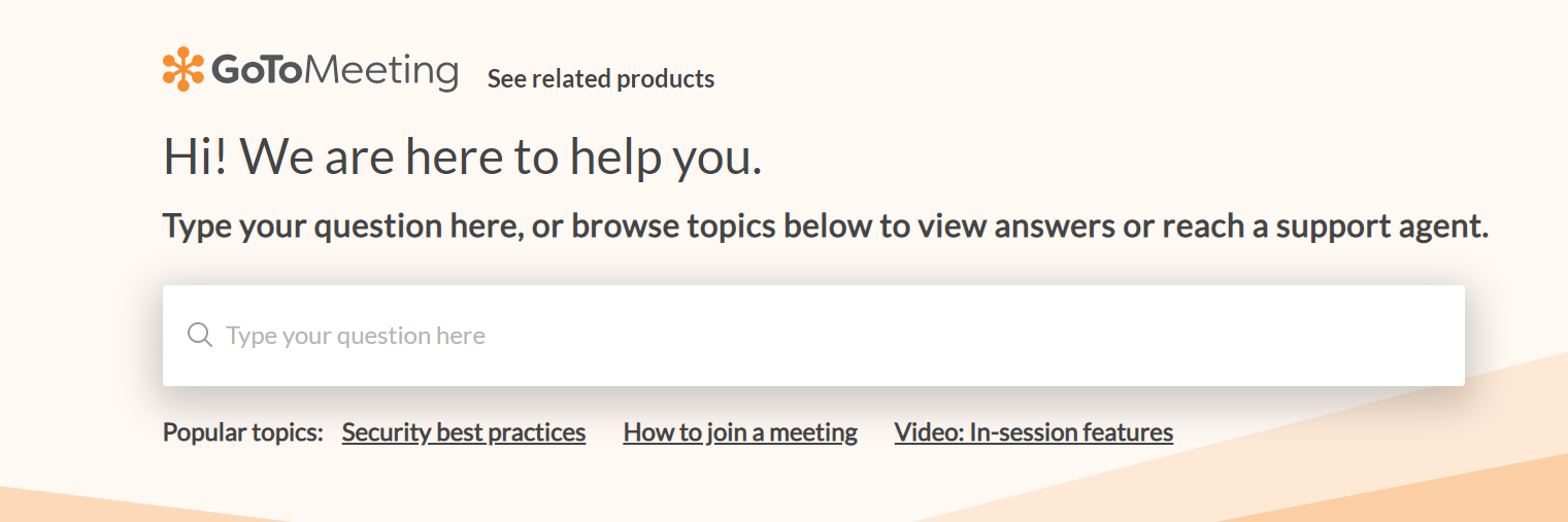 gotomeeting support
