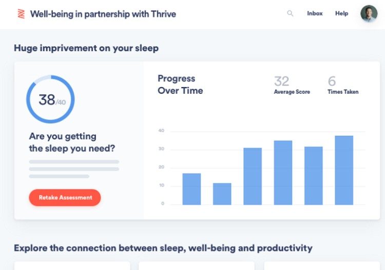 zenefits well being thrive