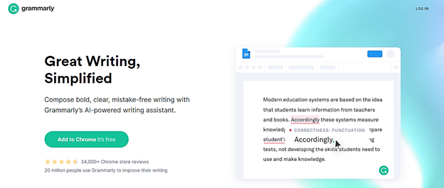 I'm Going with Grammarly Here