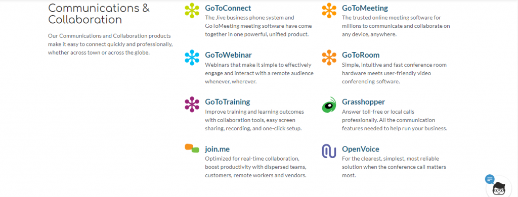 LogMeIn Communication and Collaboration Apps