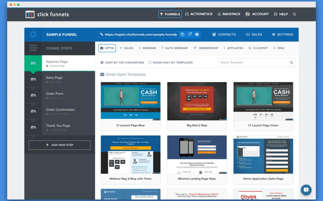click funnels platform