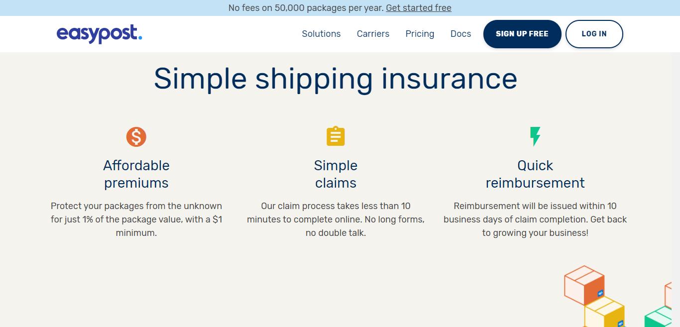easypost insurance