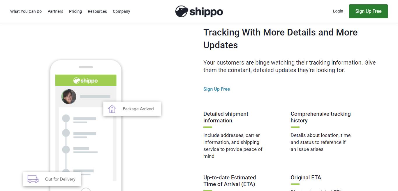 shippo tracking