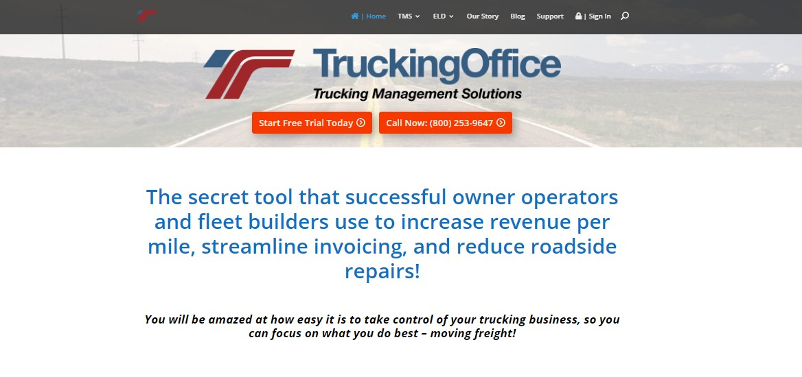 trucking office