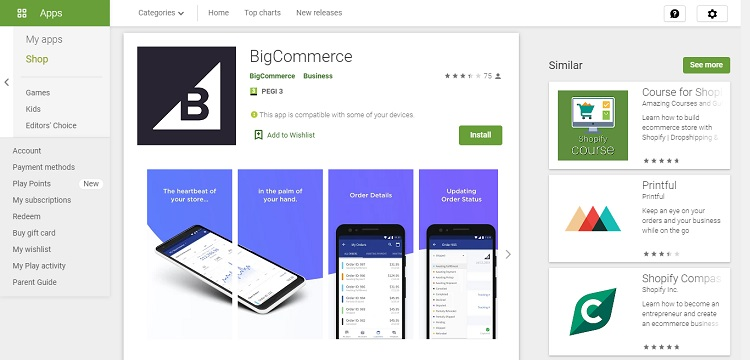 bigcommerce features