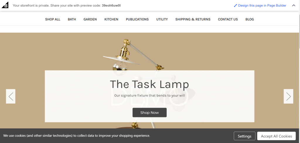 Best free eCommerce theme available to BigCommerce users