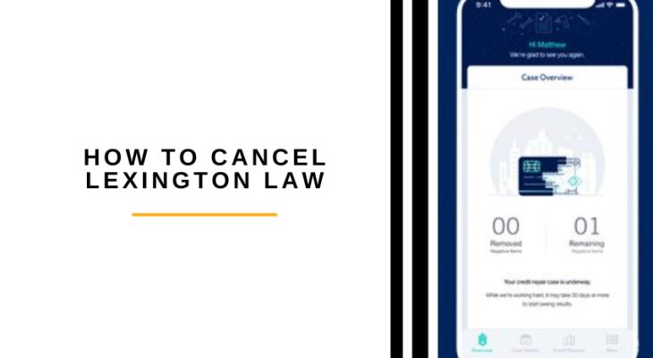 how to cancel lexington law