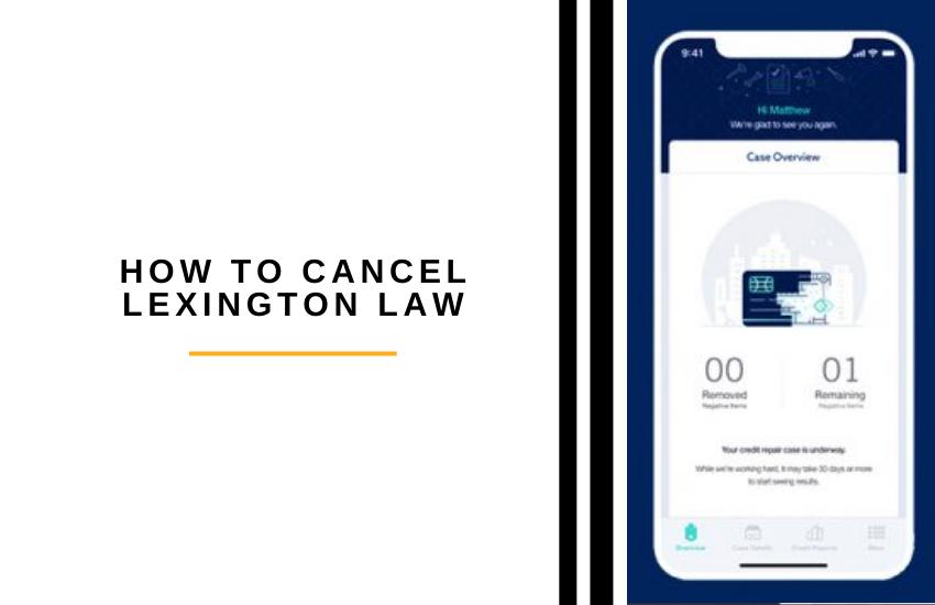 how to cancel lexington law