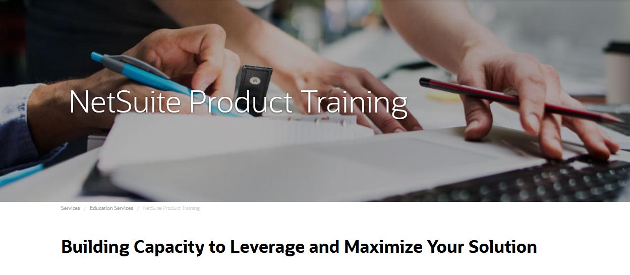 netsuite product training
