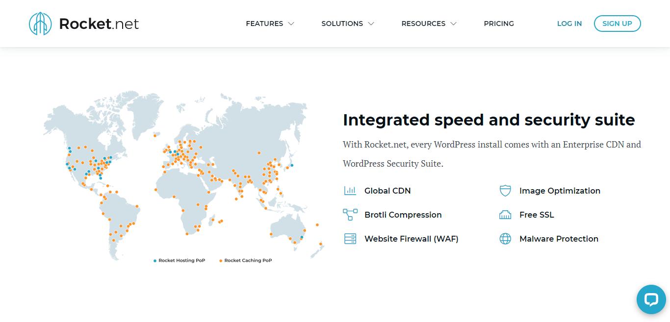Rocket.net Speed