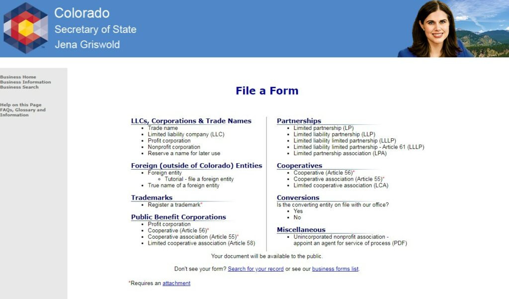 How to Start an LLC in Colorado Form