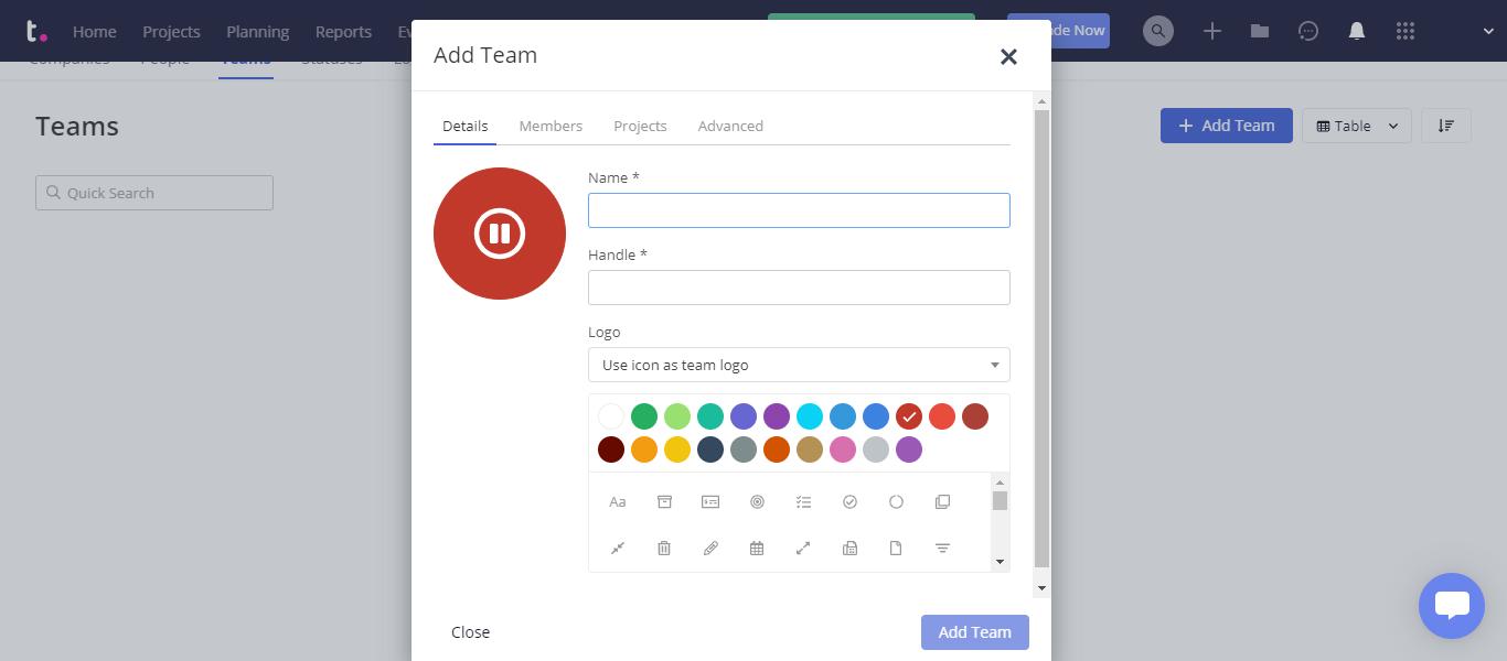 Teamwork Client Access