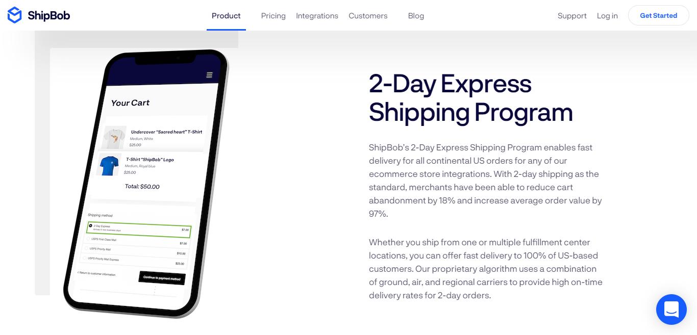 ShipBob's 2-Day Express Shipping Program