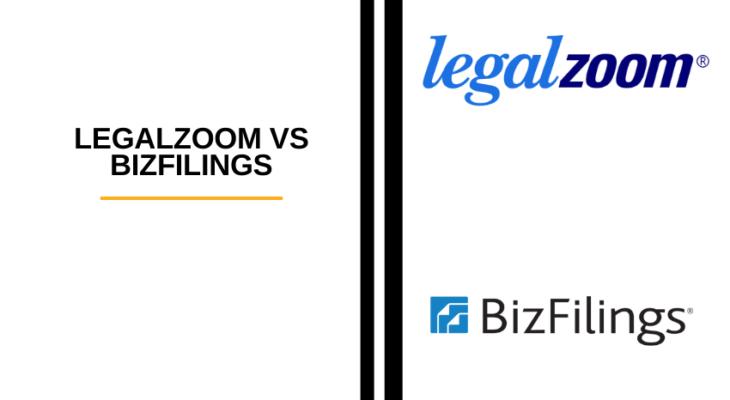 Legalzoom vs Bizfilings