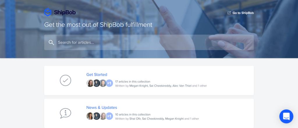 ShipBob's Customer Service