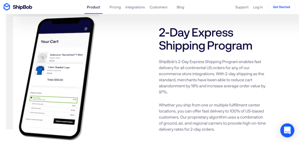 Two-Day Express Shipping ShipBob