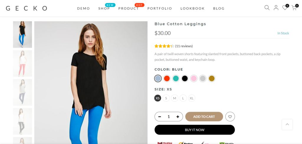 Do Shopify Themes Come With Built-In Color Swatches?
