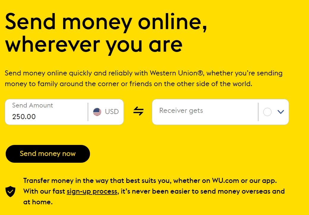 western send money